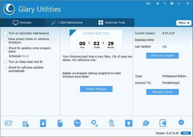 Glary Utilities Pro indir