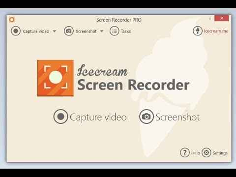 Icecream Screen Recorder – Türkçe