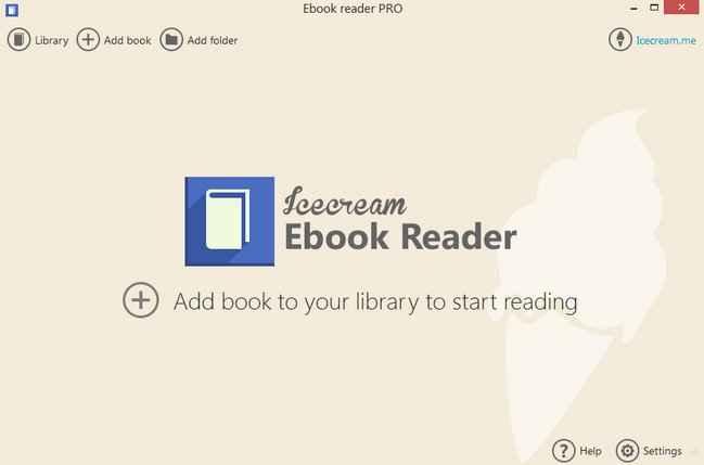 Icecream Ebook Reader indir