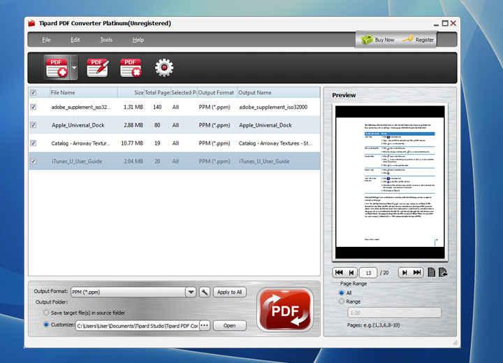 Tipard PDF Converter Platinum İndir