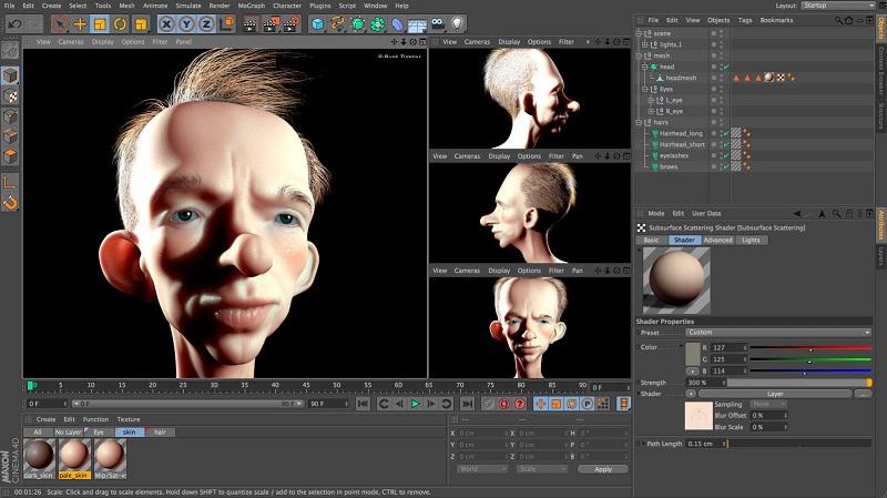 Maxon Cinema 4D indir – Studio