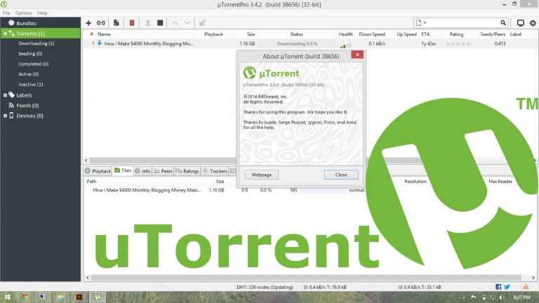 uTorrent Pro İndir Apk