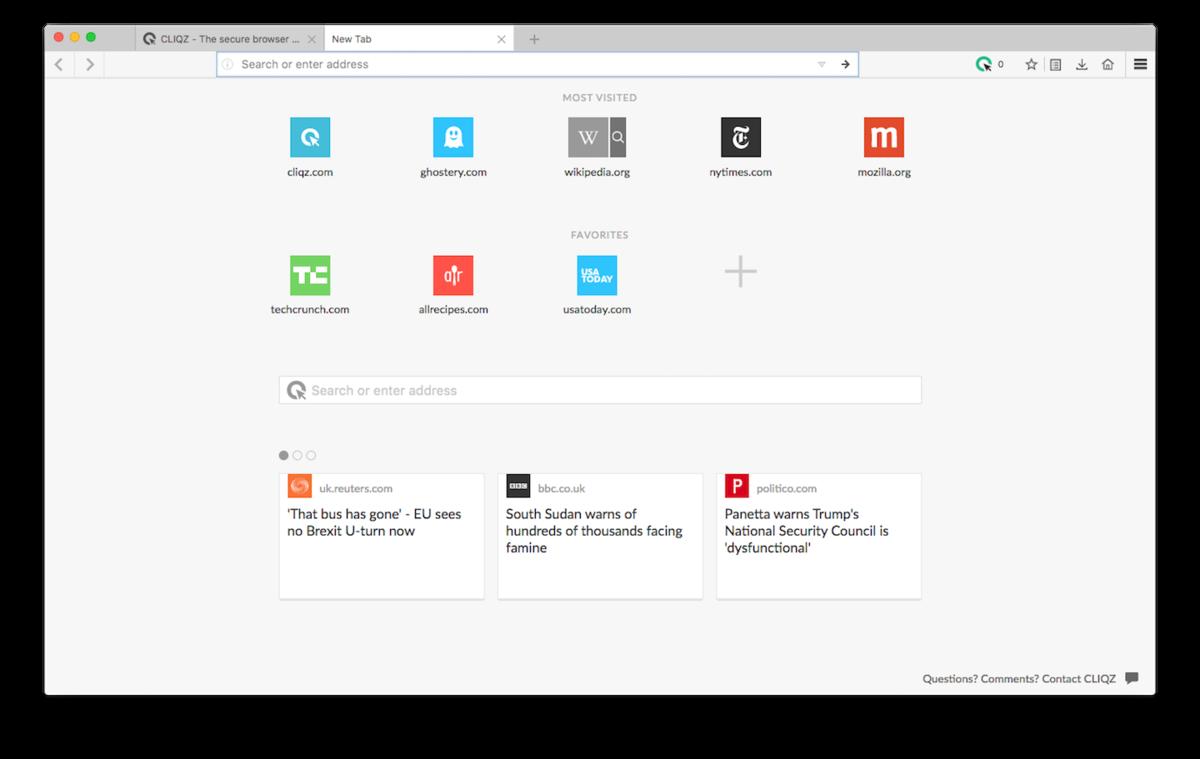 CLIQZ Browser indir