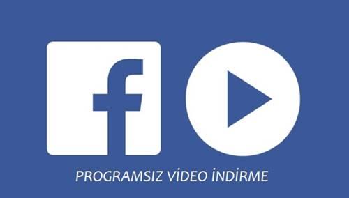 Facebook Video indirme Programı