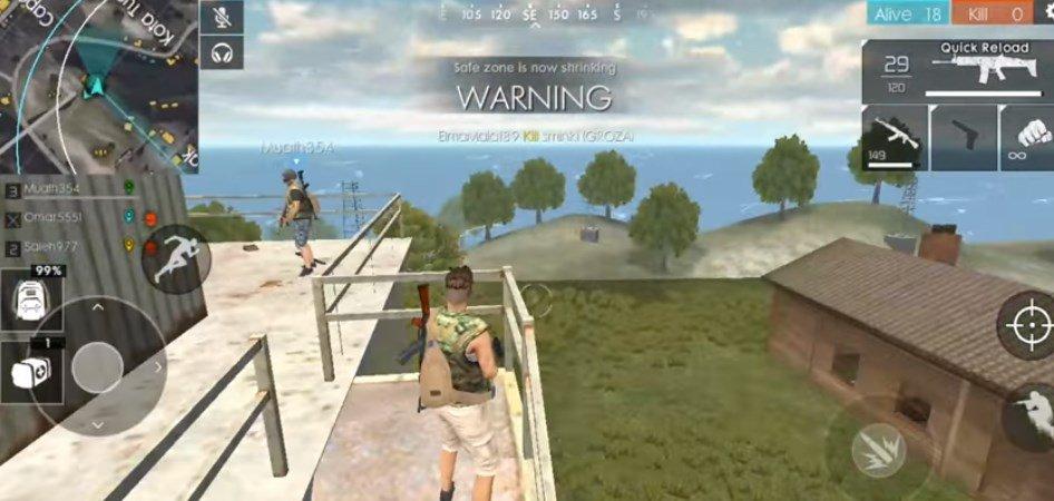 Free Fire indir – PC & Android Savaş Oyunu