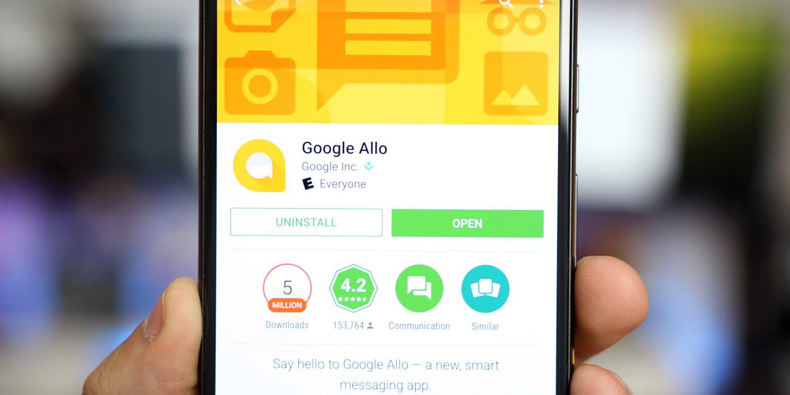 Google Allo indir – Android mesajlaşma uygulaması