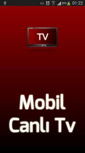 Mobil Canlı TV indir