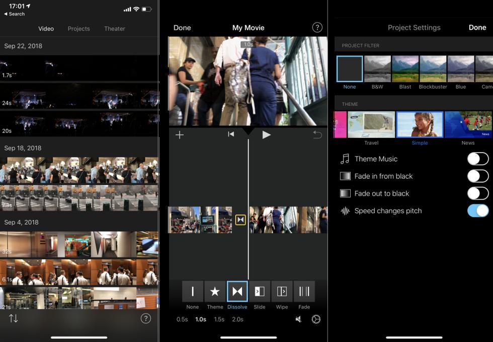 iMovie indir – iOS için Video Düzenleme Uygulaması