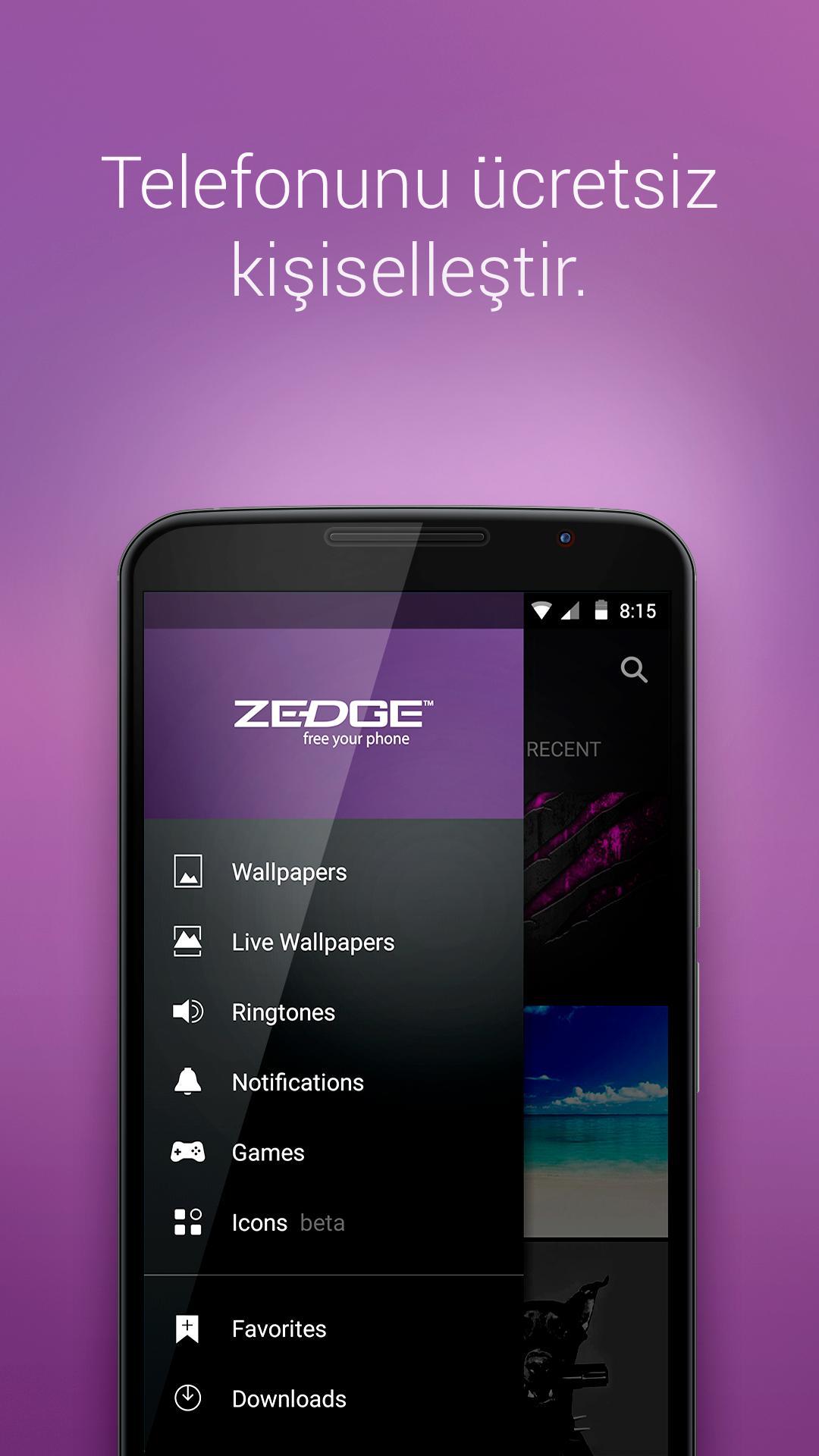 Zedge indir