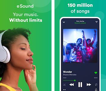 eSound indir – iOS Ücretsiz Müzik Dinleme Uygulaması