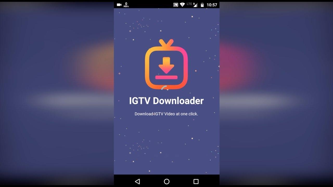 IGTV Downloader – İnstagram TV Videoları indirme uygulaması