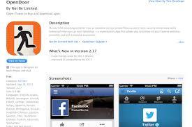 OpenDoor indir – iOS için anonim tarayıcı