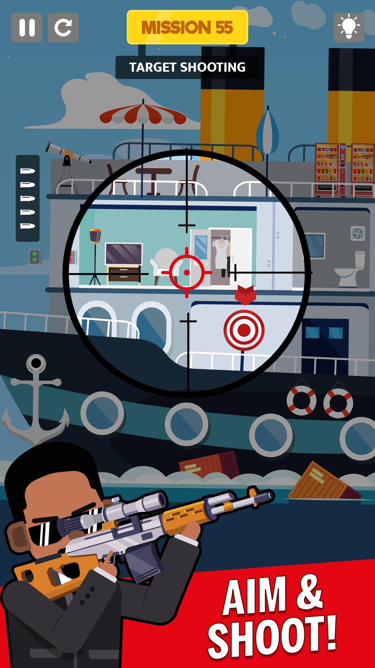 Sniper Captain indir – Android Keskin Nişancı Oyunu