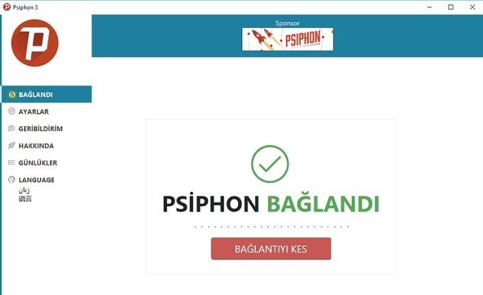 Psiphon 3 indir